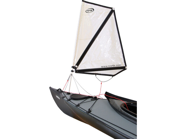 nortik Kayak Sail 1.0 Faltboat-veneisiin, white